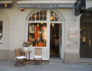 Cashmere Pur in Berlin